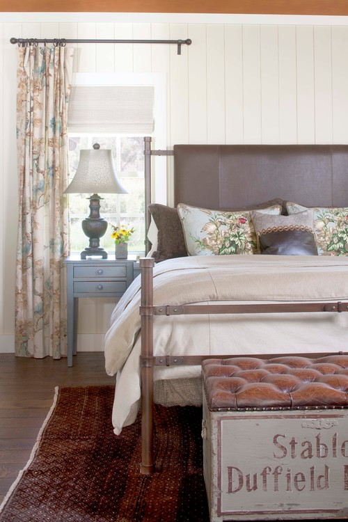 Farmhouse Bedroom in Colorado Retreat