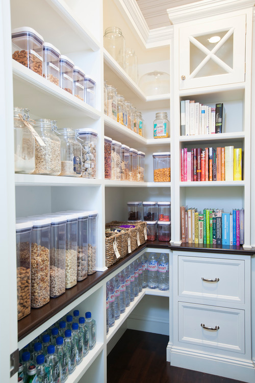 Easy Home Organization Ideas for a Kitchen Pantry