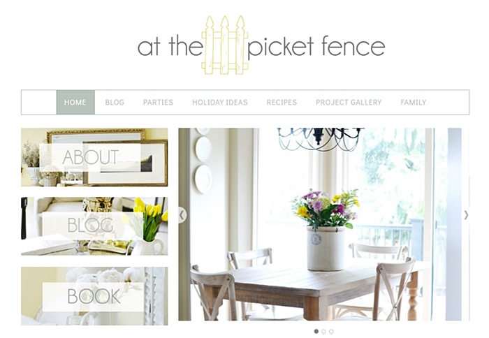 Home and Garden Blog - At the Picket Fence