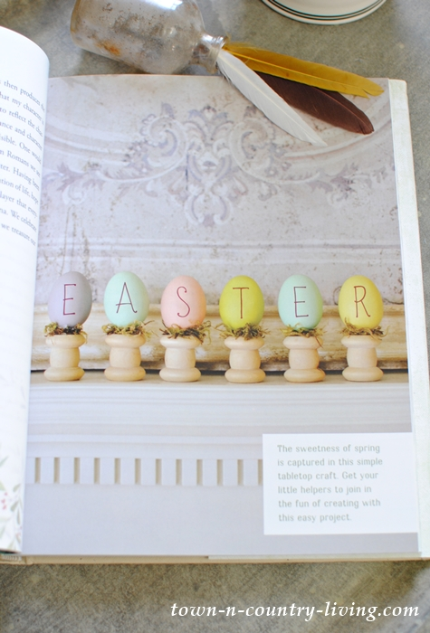Easter Mantel by At the Picket Fence