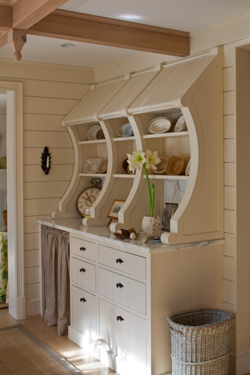 Farmhouse Built-In Cabinet