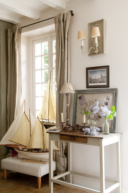 French country cottage charming home tour town - Decoration maison campagne ...
