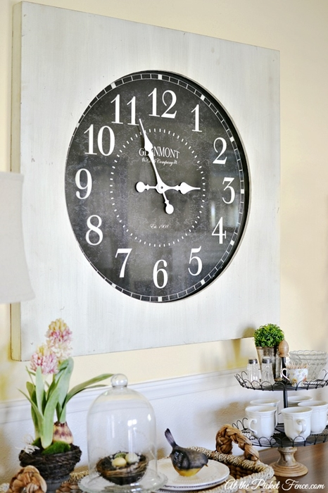 Large Wall Clocks Make A Statement Town Amp Country Living