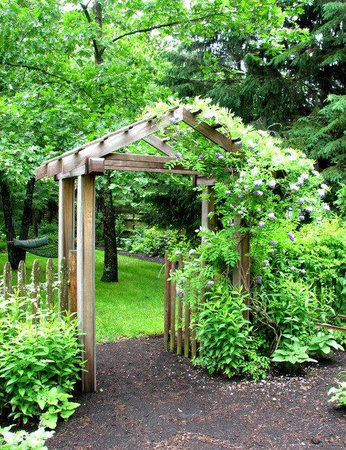Garden Arbor, garden planning ideas