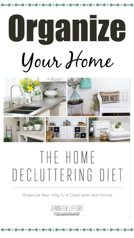 The Home Decluttering Book, home organization, how to get organized, organizing tips. how to get rid of clutter