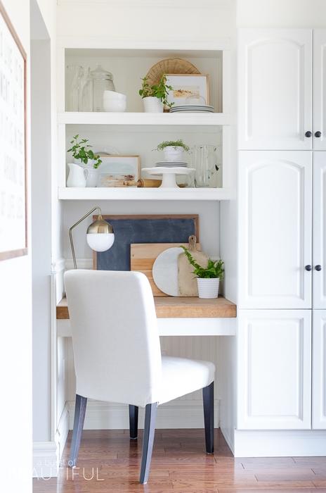 Kitchen Office at Burst of Beautiful