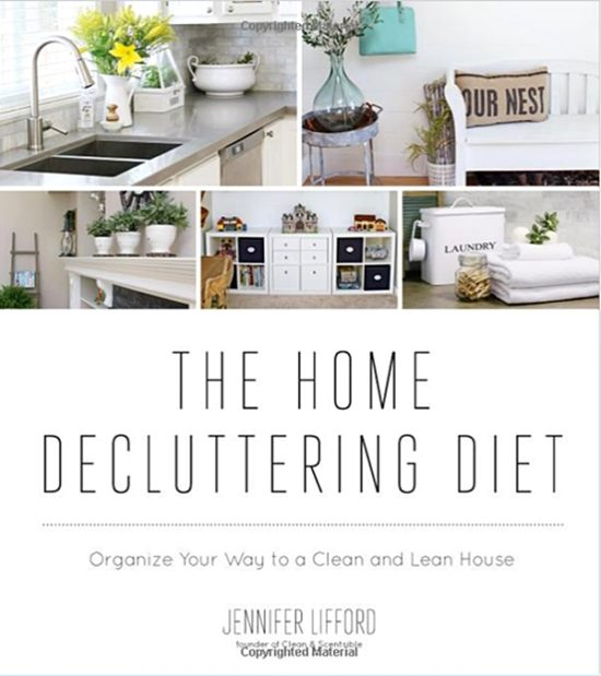 Home Decluttering Diet. book, organizing, cleaning, home organization