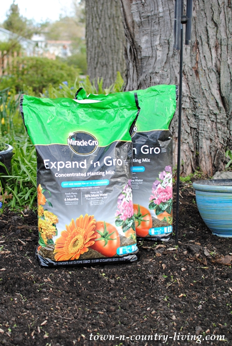 Miracle Gro Expand 'N Gro, gardening tips