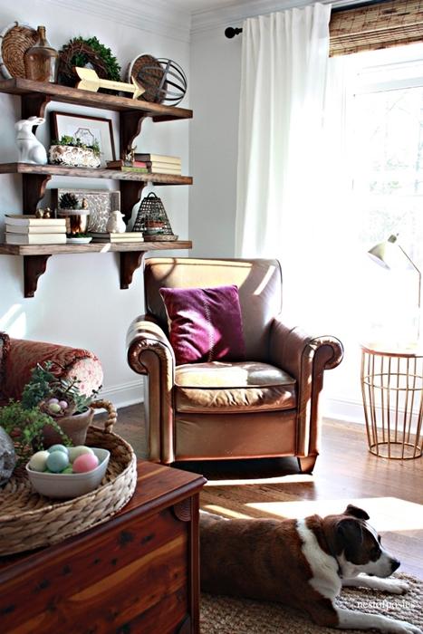 Farm Shelves at Nest of Posies