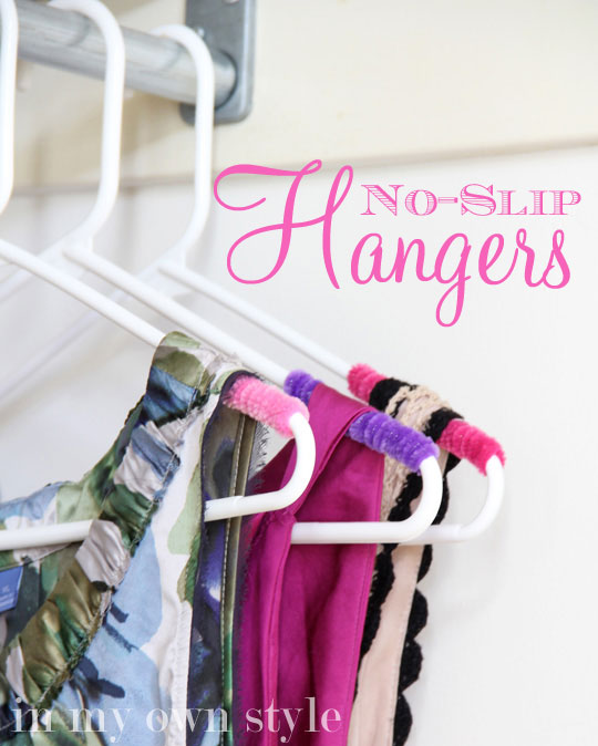 No Slip Clothes Hangers by In My Own Style