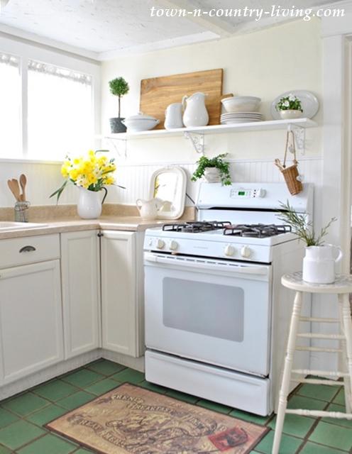 open shelving ideas, farmhouse kitchen, farmhouse decor, kitchen ideas