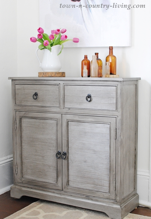 gray cabinet, sideboard, wayfair cabinet, gray furniture, sitting room