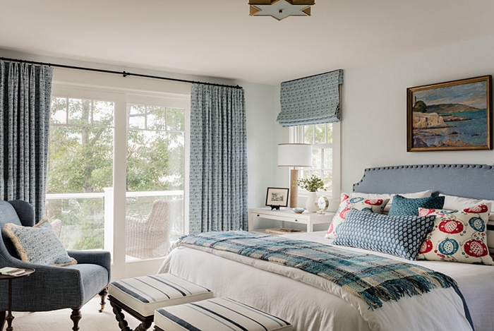 Traditional cape cod charming home tour town country living - Cape cod style bedroom image ...
