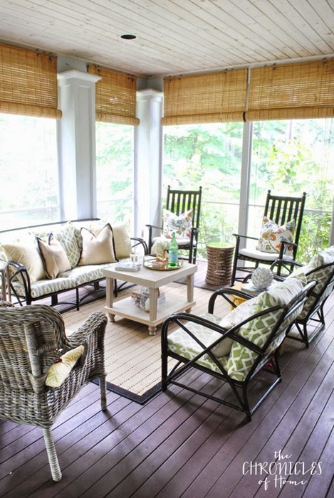 Screened Porch by Chronicles of Home