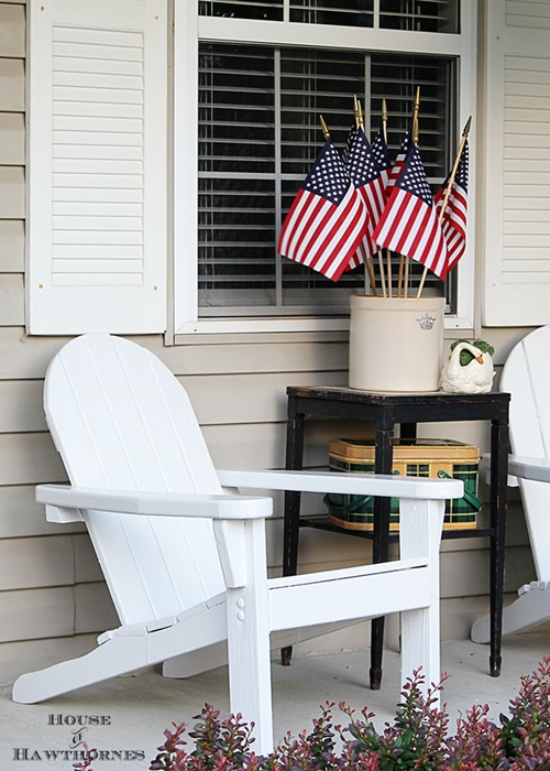 Summer Porch Inspiration by House of Hawthornes