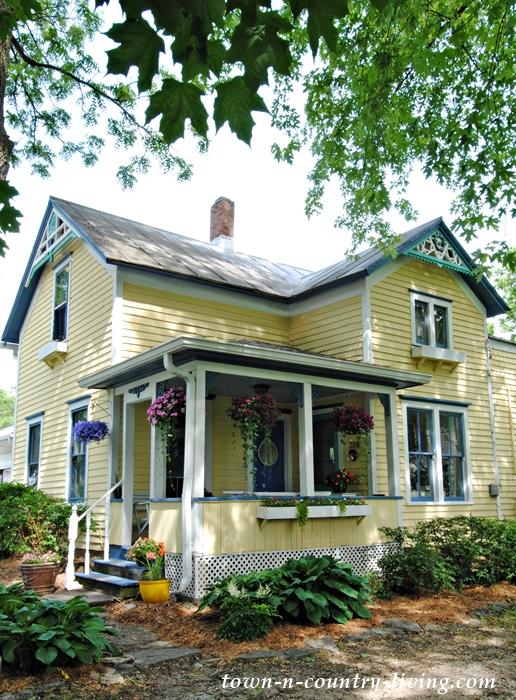 farmhouse, summer porch, summer home tour