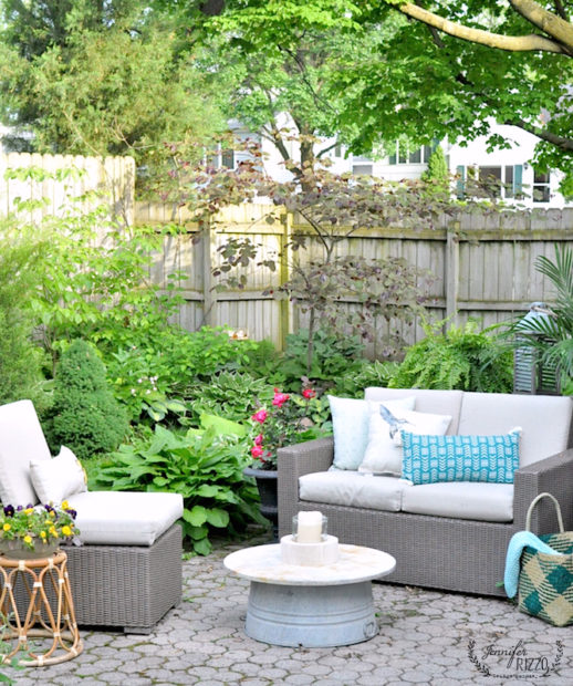 Outdoor Summer Patio by Jennifer Rizzo