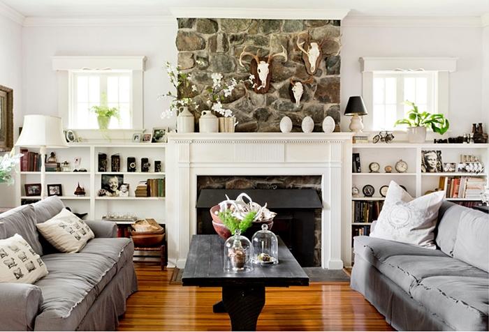 Maryland Farmhouse Living Room