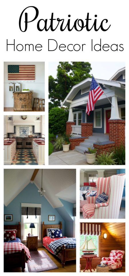patriotic home decor ideas town country living