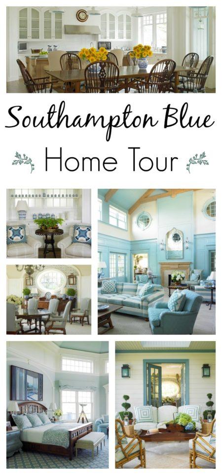 Southampton Blue Home Tour