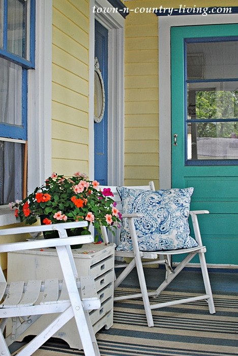 farmhouse entry, summer porch