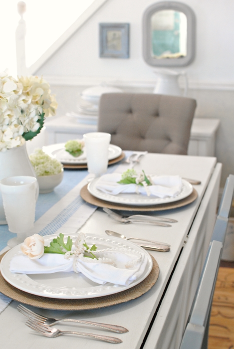 Country Style Summer Table Setting & Summer Table Setting for Entertaining - Town u0026 Country Living