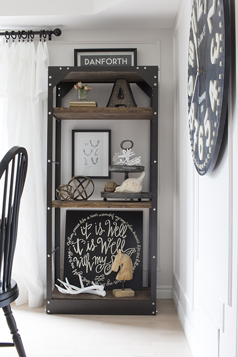 AKA DESIGN dining room shelf 1