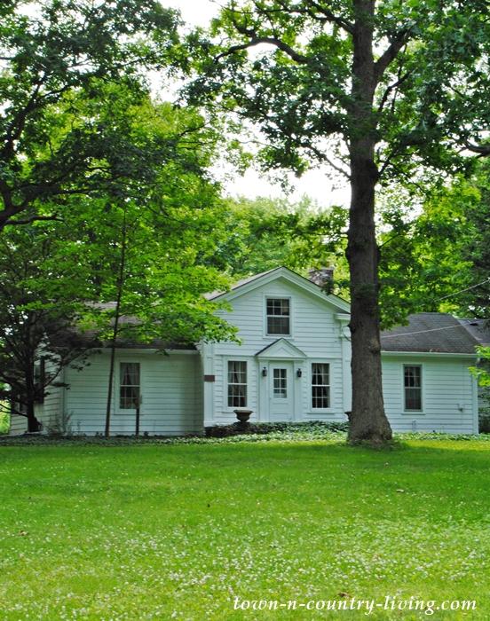 Charming white classic home