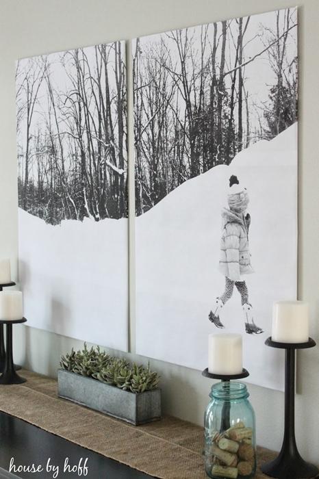 Split canvas art by House by Hoff