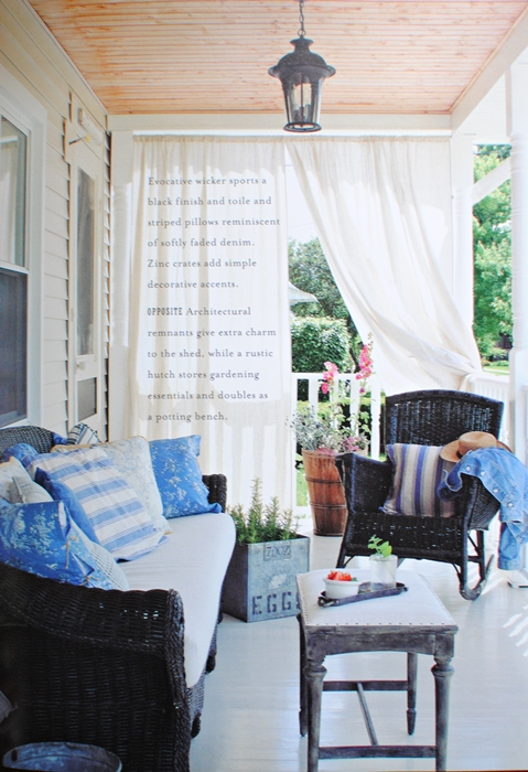 Outdoor spaces and porches