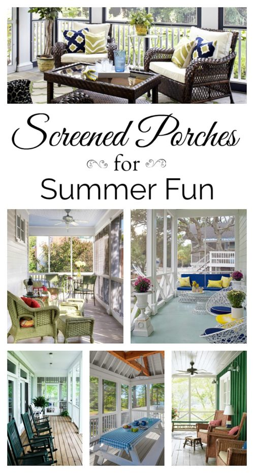 Screened Porches for Summer Fun. See all 12!