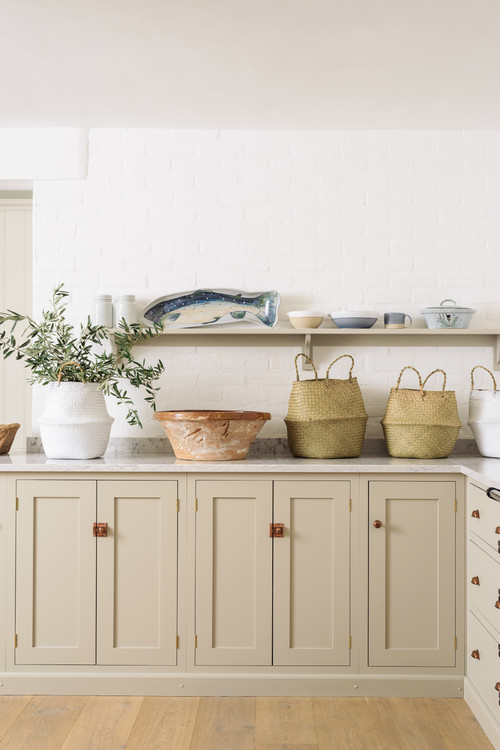 Country Kitchen with Baskets