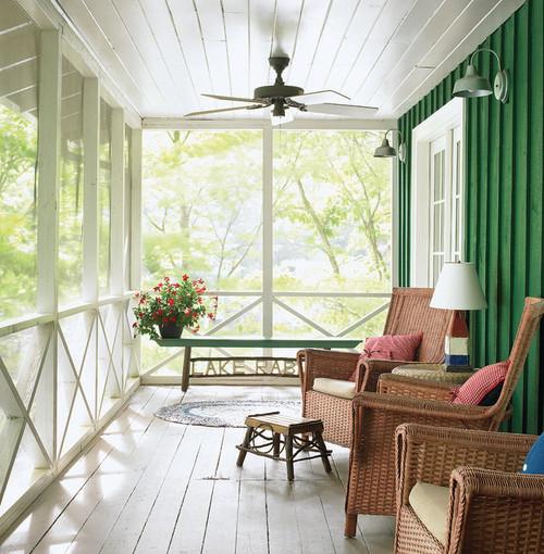 Farmhouse Screened Porch Design