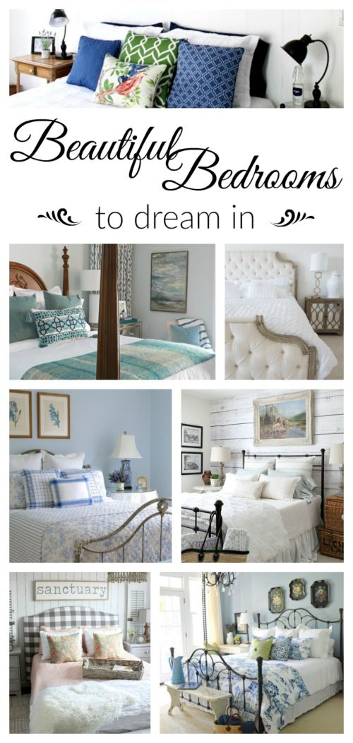 Beautiful bedrooms, from farmhouse style to traditional style
