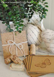 DIY Recycled Cardboard Coasters