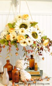 Fall Floral Chandelier: Make Your Own