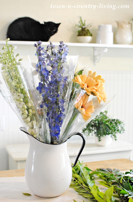 Easy steps to create a beautiful bouquet