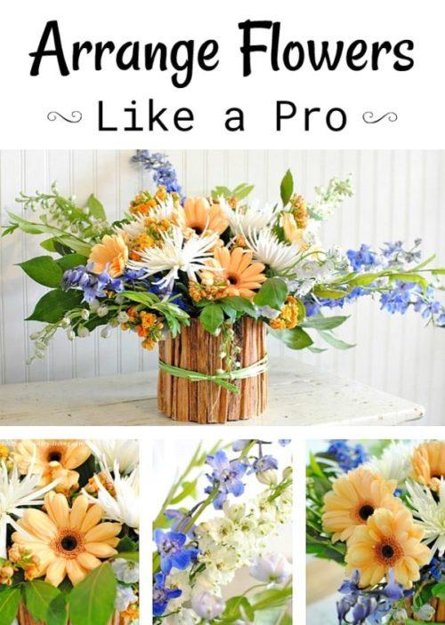 How to Arrange Flowers - with Matthew Robbins, wedding designer