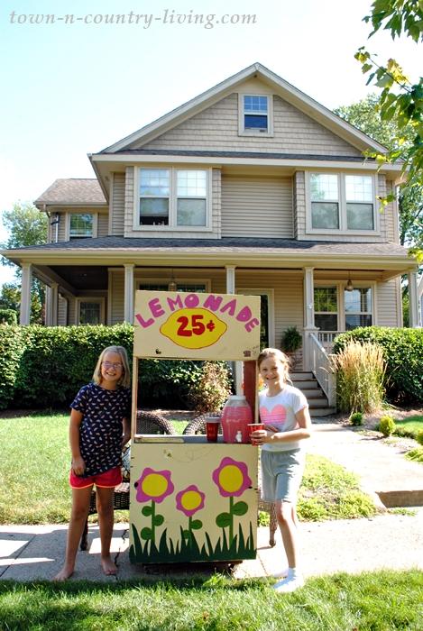 Lemonade Stand in Crystal Lake, Illinois