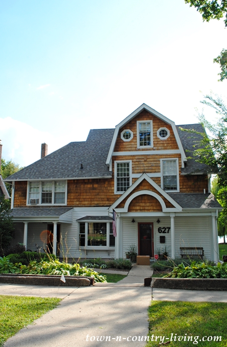 Historic home in Crystal Lake, Illinois