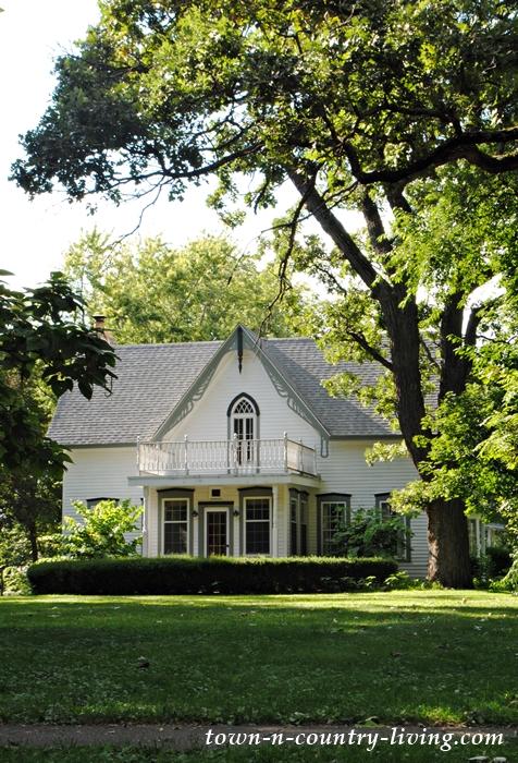 White Victorian Farmhouse