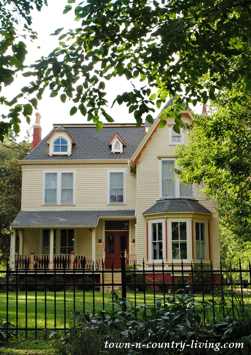 Yellow Victorian Historic House