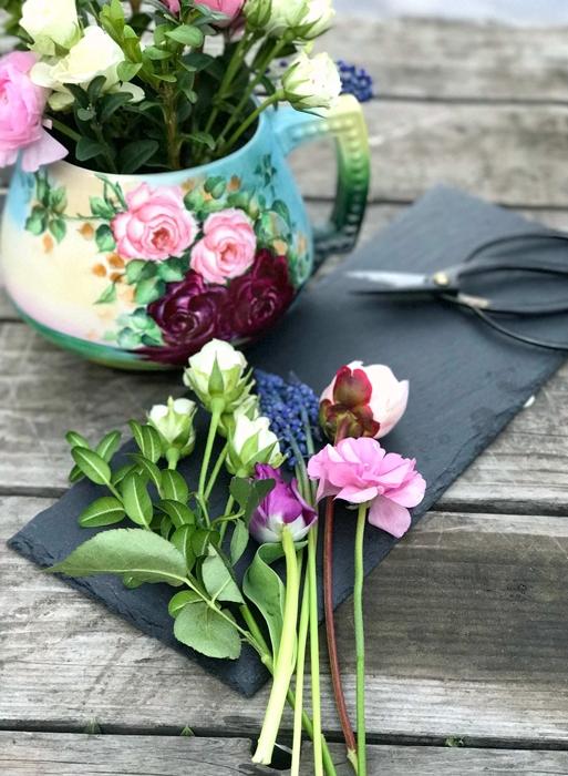 Flower arrangement from A Year in Flowers