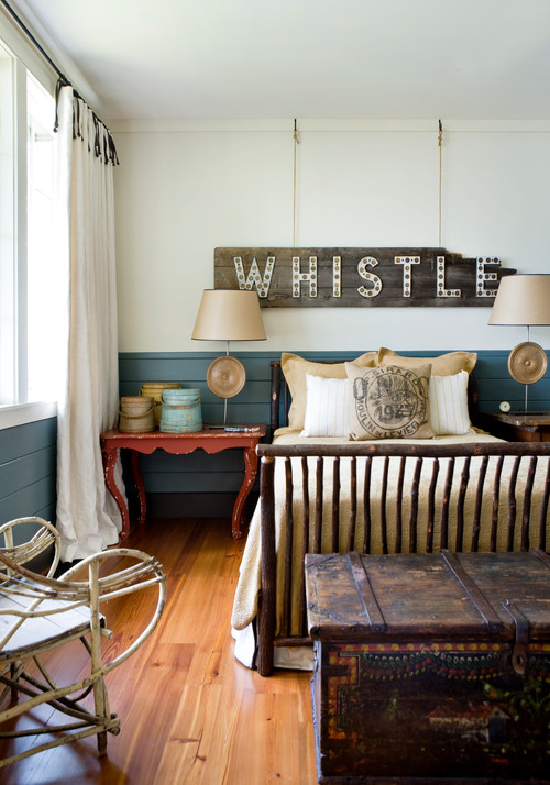 Primitive Country Style Bedroom