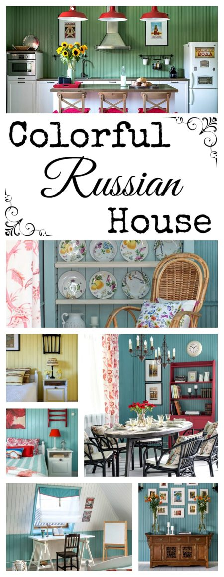 Colorful Russian House