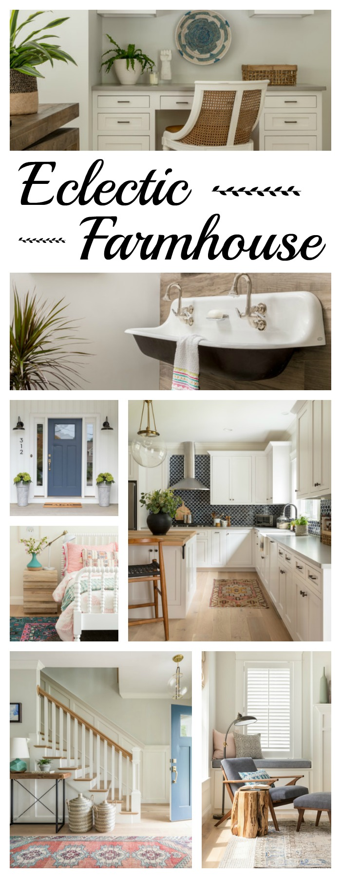 Eclectic Farmhouse: Charming Home Tour - Town & Country Living