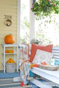 Fall Front Porch: A Place for Me Time