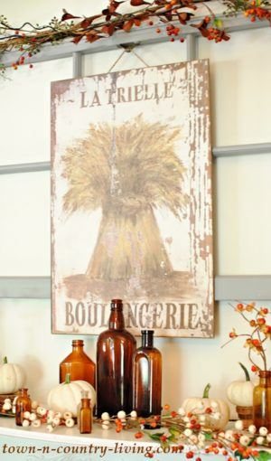 French Wheat Painting - Boulangerie