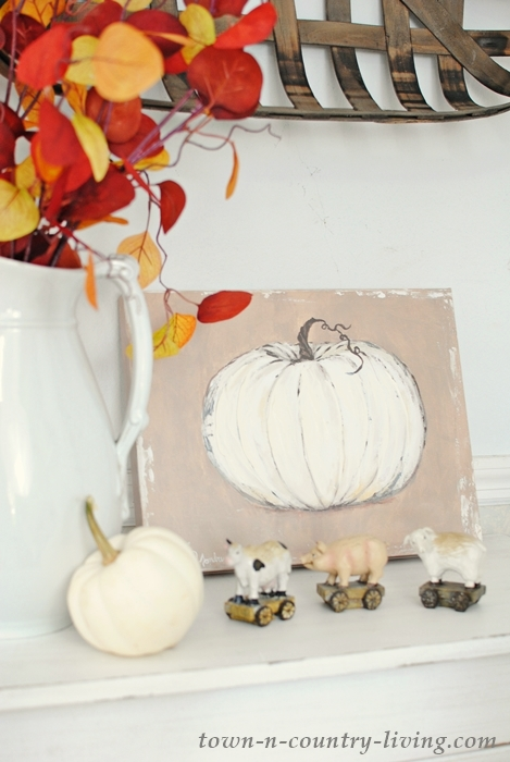 Pumpkin Canvas Painting