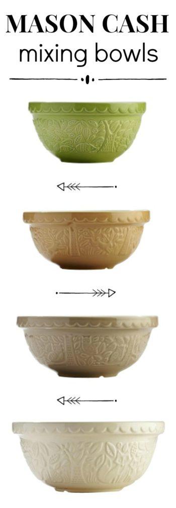 Mason Cash Farmhouse Bowls